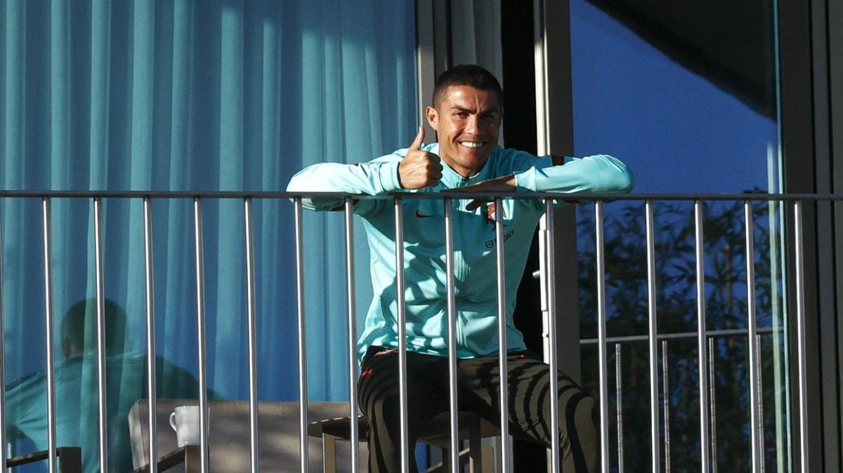 Cristiano Ronaldo'nun koronavirüs protokolünü çiğnediği iddia edildi