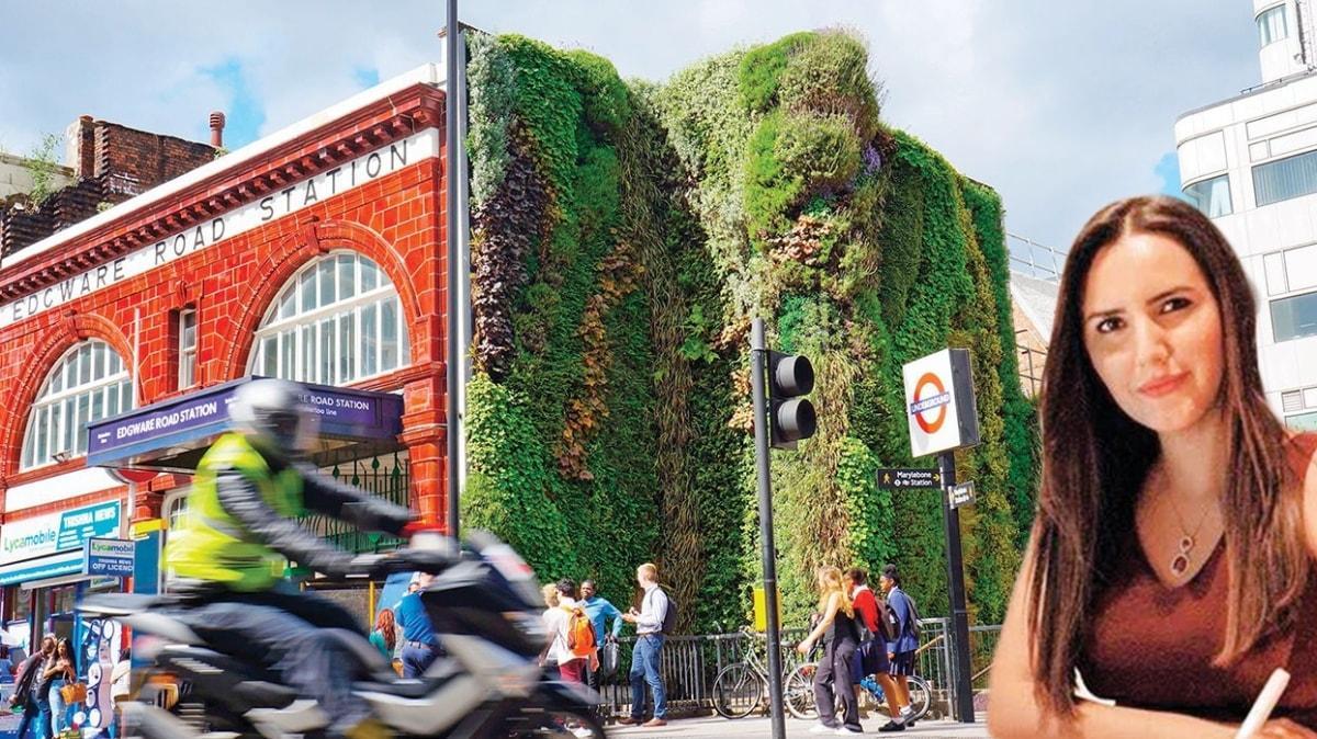 'Dikey bahçeler şehre nefes aldırıyor'