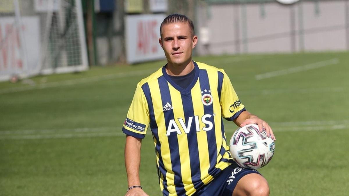 Dimitris Pelkas: Kendimi geliştirmek için Fenerbahçe'ye geldim