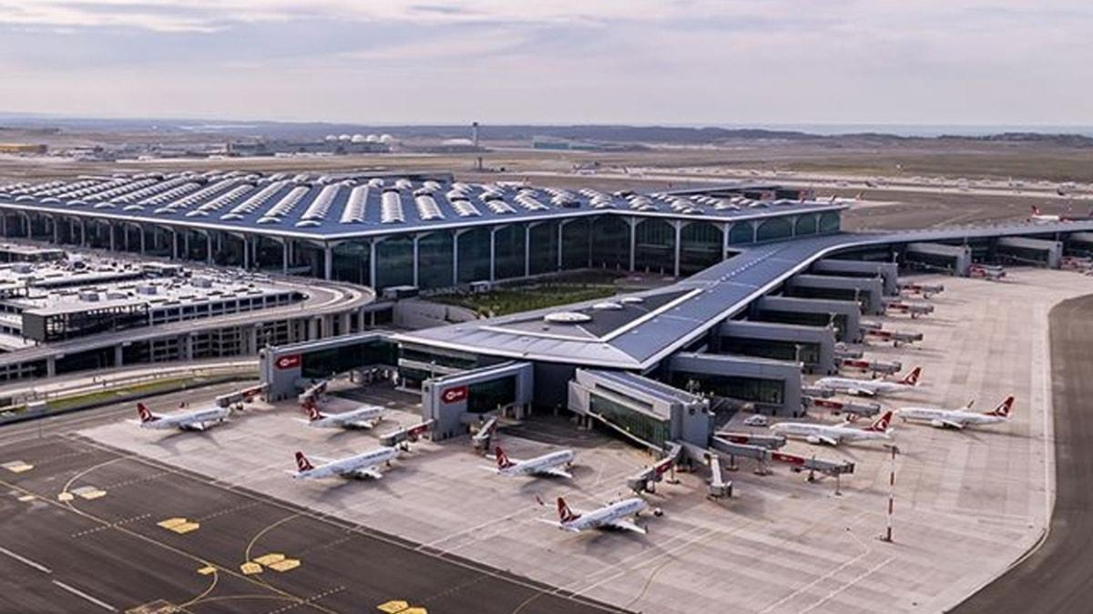 """İstanbul Havalimanı, """"sıfır atık' belgesi"""" alan ilk havalimanı oldu"""