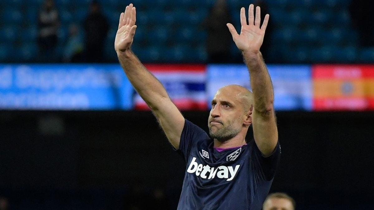 Pablo Zabaleta futbolu bıraktığını duyurdu