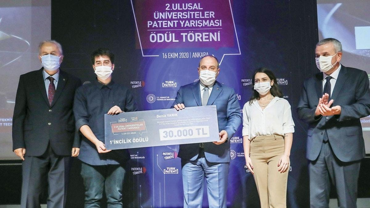 Mustafa Varank: Patentte lig atladık