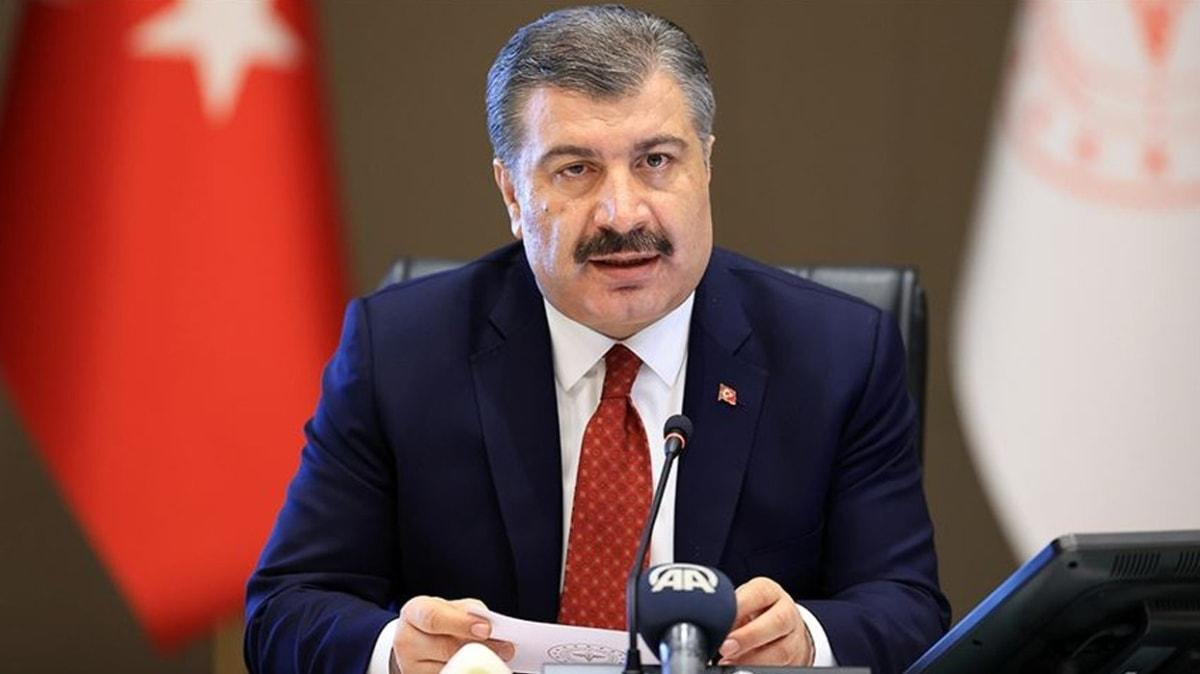 Sağlık Bakanı Koca, Erzurum'da basın toplantısı düzenledi