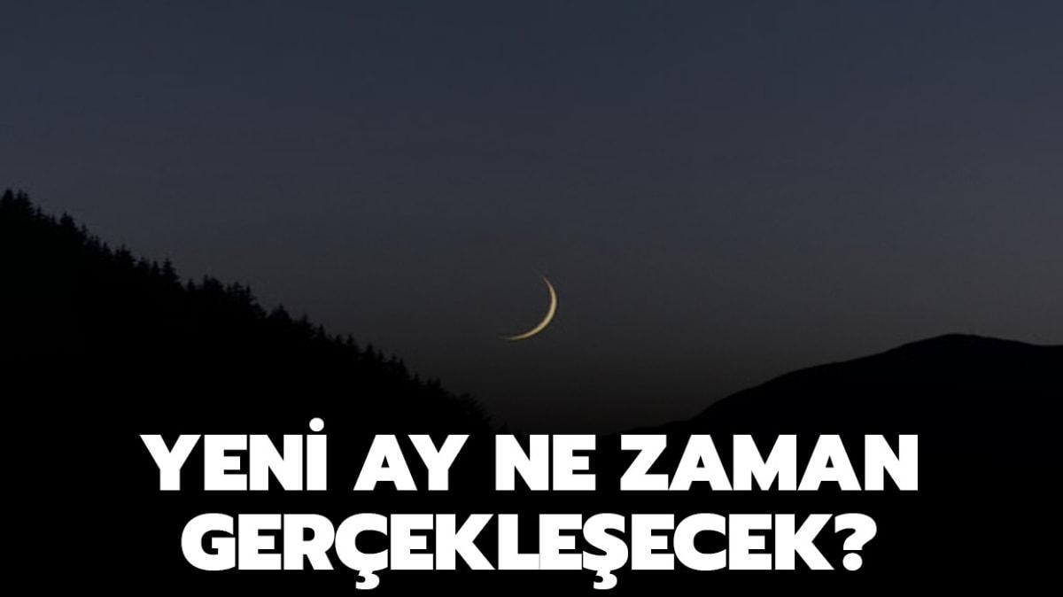 """Terazi burcunda yeni ay görülecek! Yeni ay ne zaman, saat kaçta"""""""