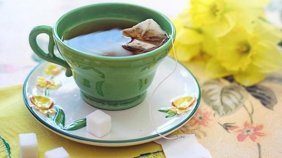 Yeşil çay kanser riskini azaltıyor!