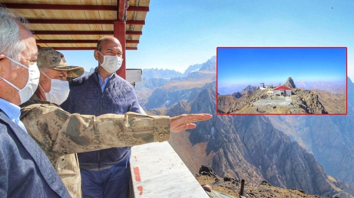 Bakan Soylu paylaştı: 3 bin 450 metrede, Türkiye'nin en modern üs bölgesi