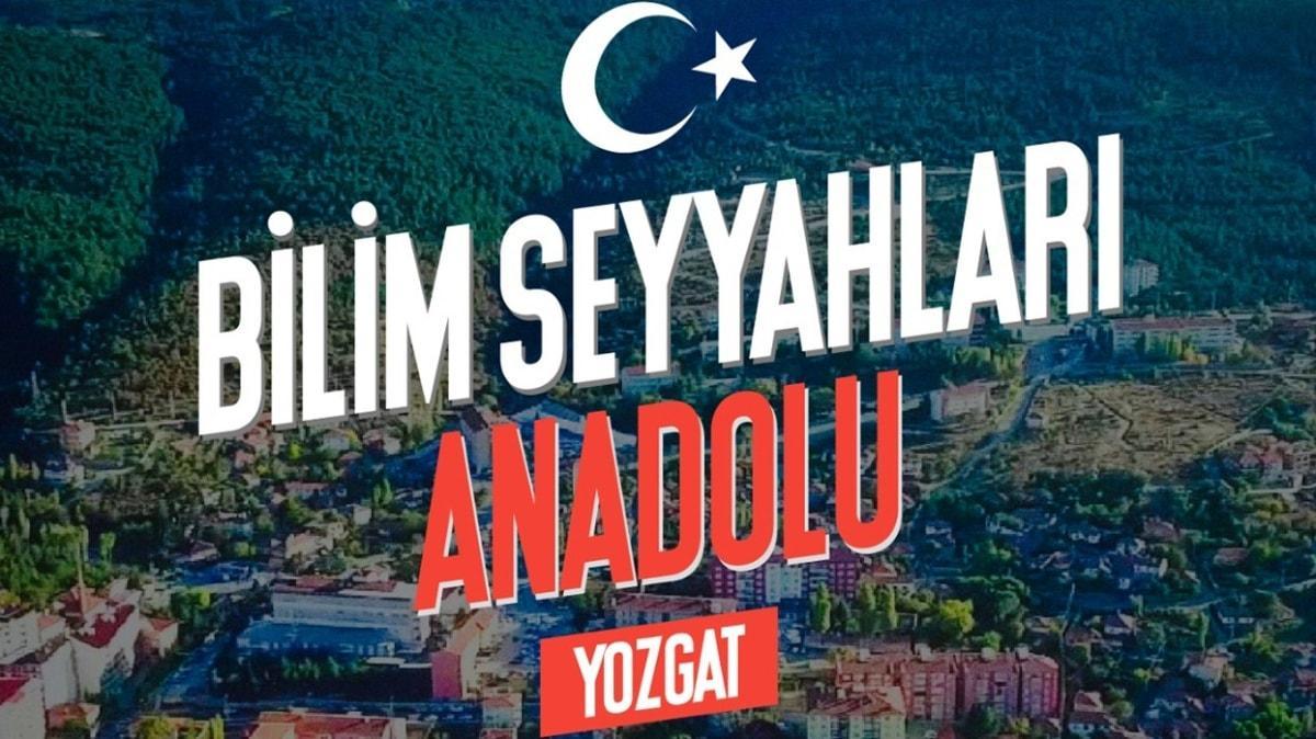 Bilim Seyyahları Anadolu'da