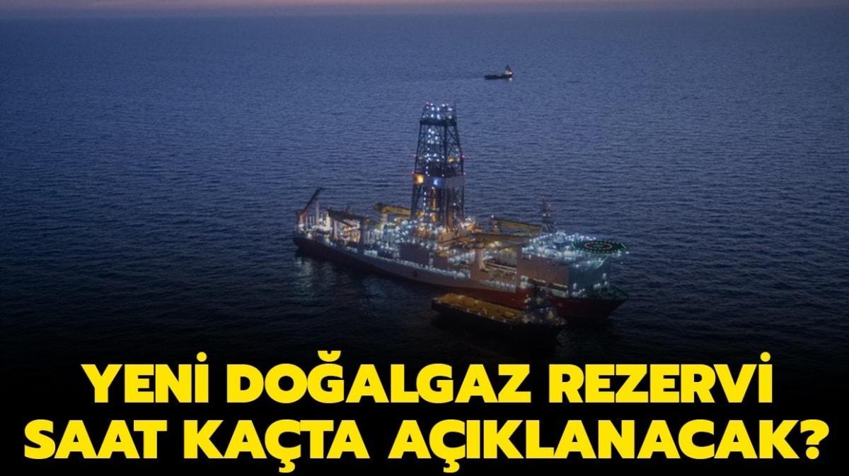 """Doğalgaz rezervi saat kaçta açıklanacak"""" Başkan Erdoğan yeni müjdeyi açıkladı!"""