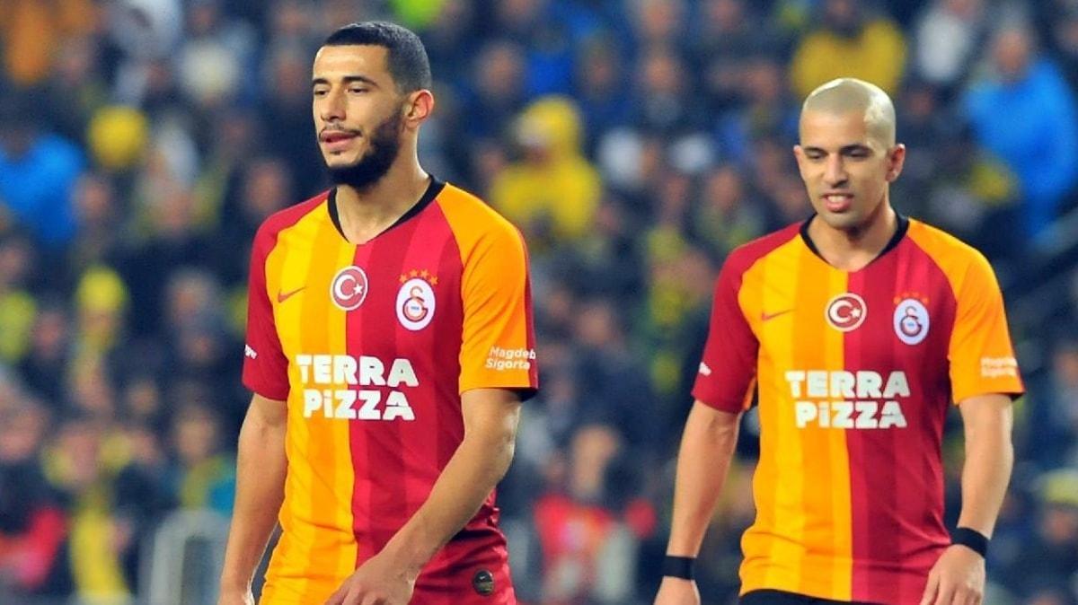 Galatasaray'da Belhanda ve Feghouli'nin 'ne halt yediği' ortaya çıktı