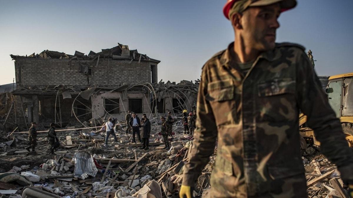 İşgalci Ermenistan ordusu Gence ve Mingaçevir'e füze saldırısı düzenledi