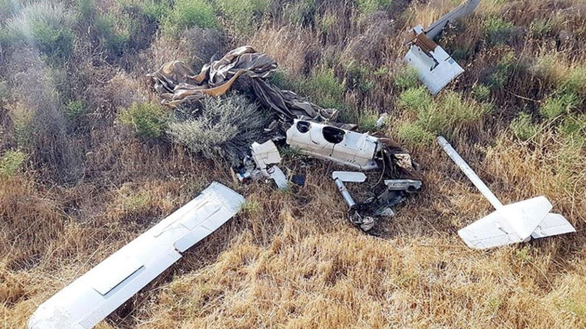 Keşif uçuşu yaptığı sırada fark edildi: İşgalci Ermenistan'a ait İHA düşürüldü