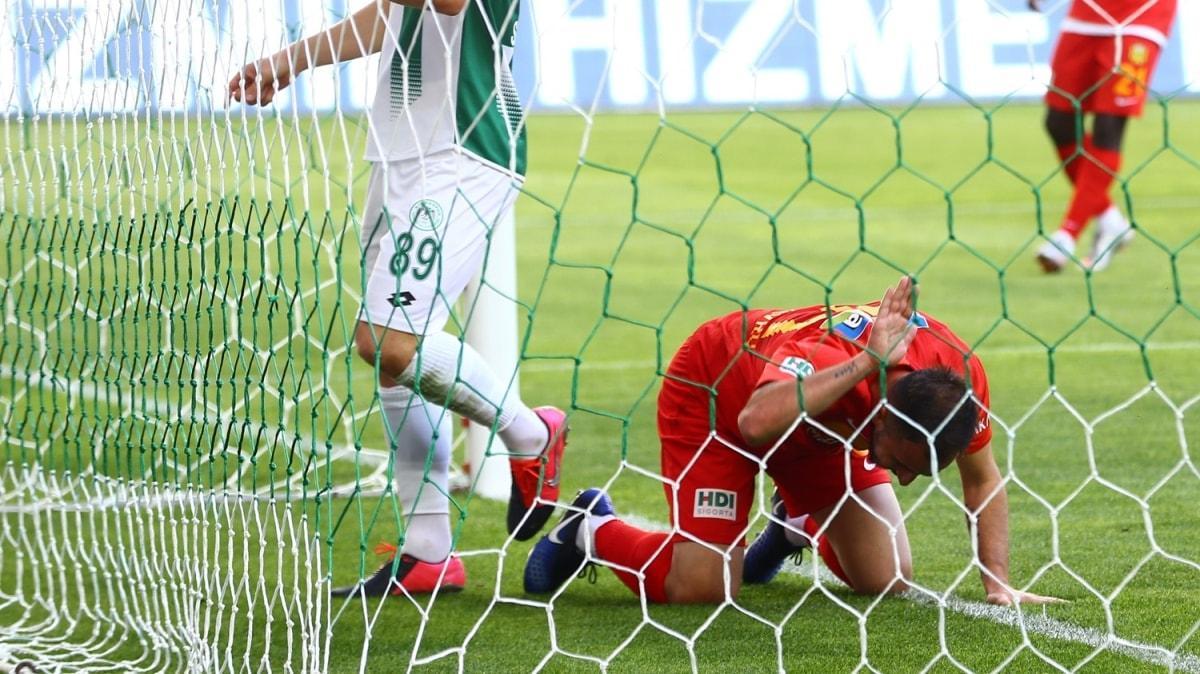 Konyaspor, 1 puanı 83'te kopardı