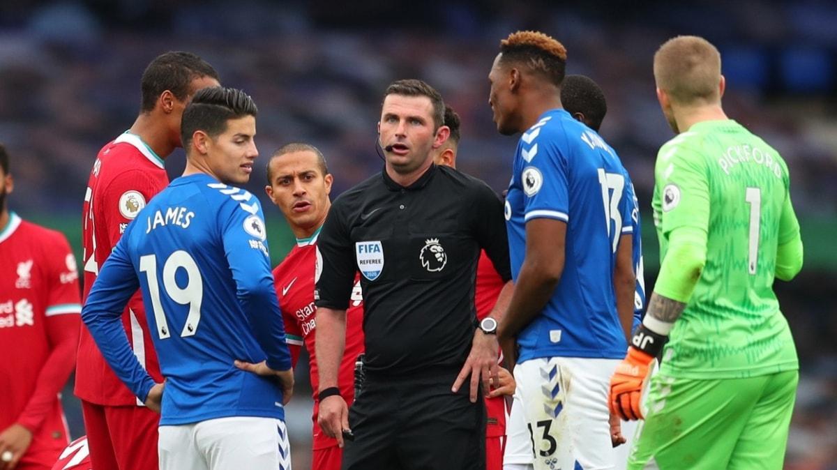 Merseyside derbisinde Everton ile Liverpool 2-2 berabere kaldı