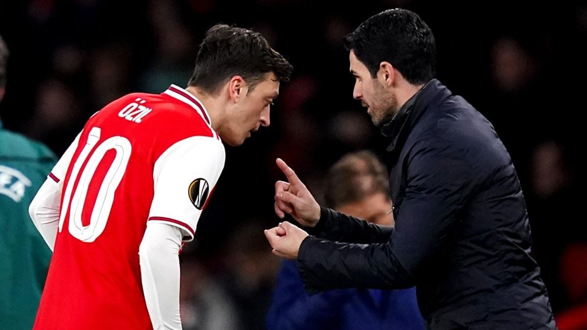 Mikel Arteta son noktayı koydu: Mesut Özil kararlarıma saygı duymalı