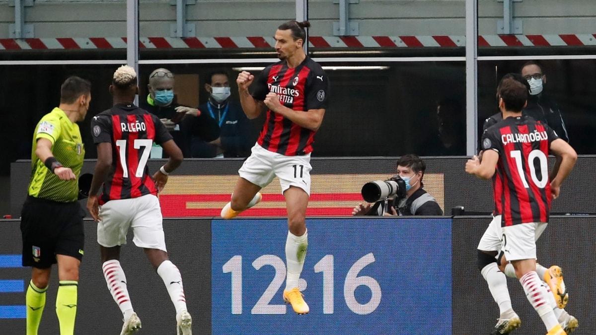 Milano derbisinde Zlatan Ibrahimovic damgası!