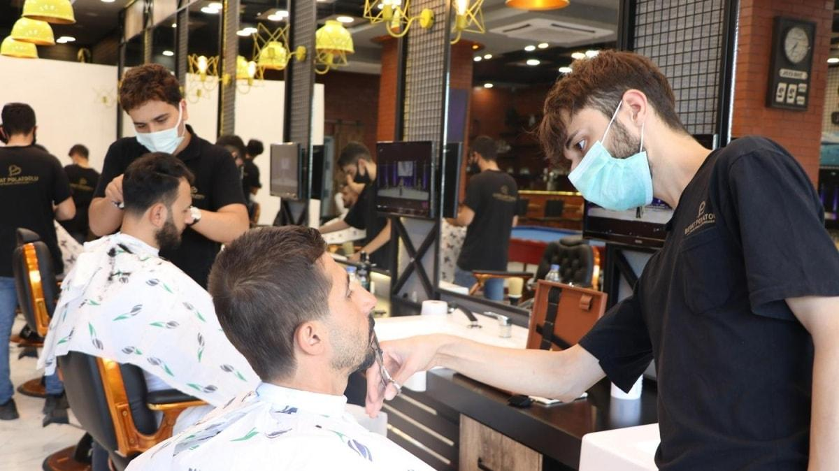 Uzun saç ve sakal virüsler için riskli