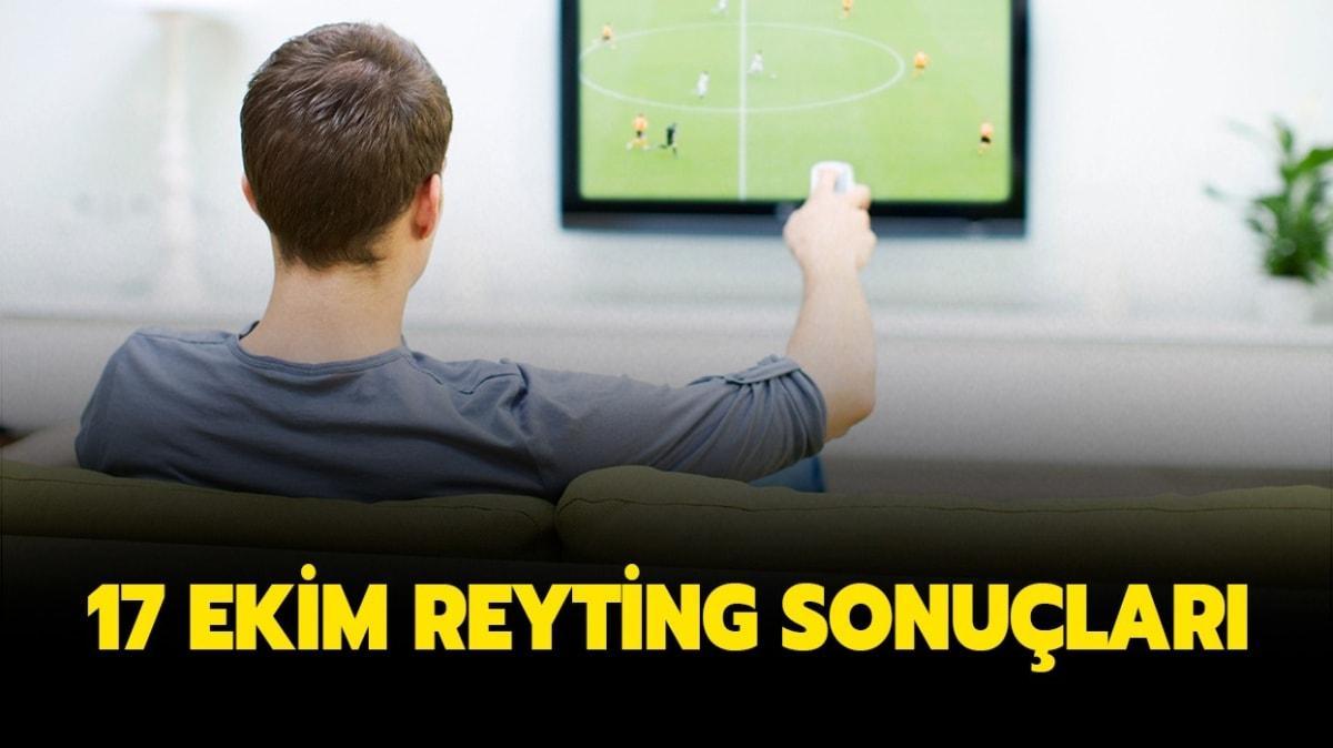 17 Ekim reyting sonuçları yayında!