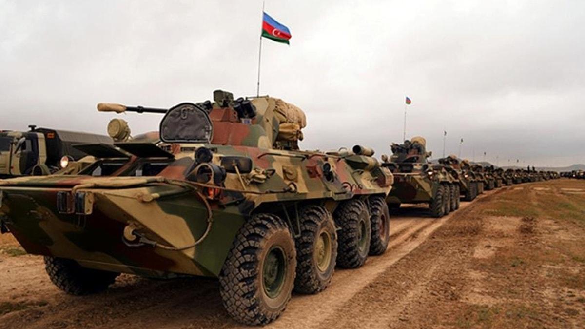 Azerbaycan Savunma Bakanlığından açıklama: Operasyonel avantaj Azerbaycan ordusunda