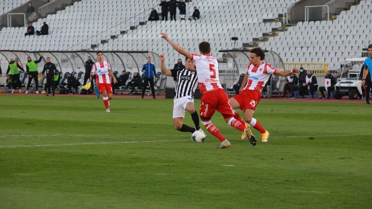 Belgrad derbisi 1-1 bitti