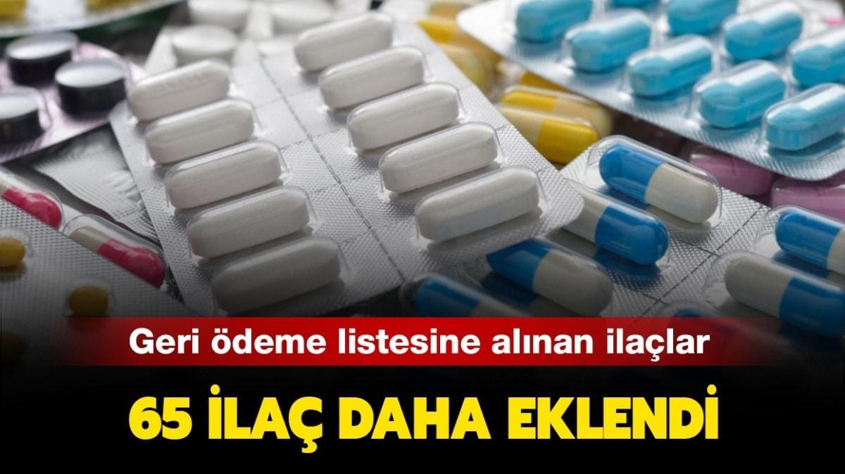 """Hangi ilaçlar geri ödeme listesine alındı"""" SGK geri ödeme listesine alınan ilaçlar"""