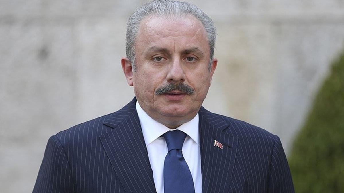 TBMM Başkanı Şentop, KKTC Cumhurbaşkanı seçilen Tatar'ı kutladı