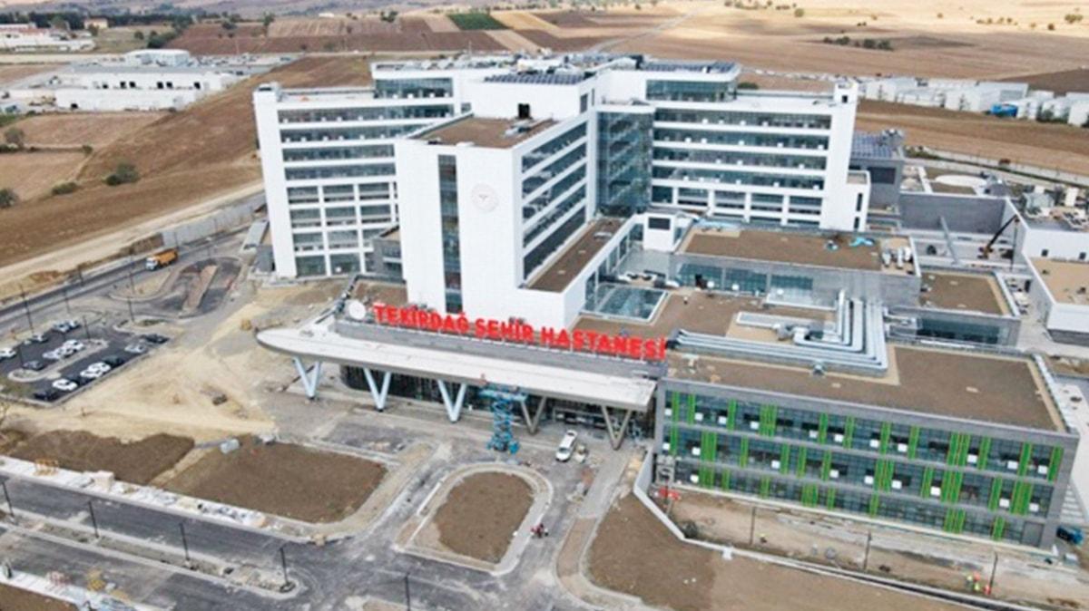 Tekirdağ Şehir Hastanesi gün sayıyor