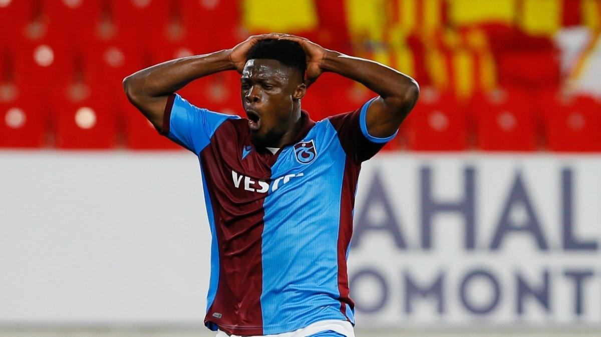 Trabzonspor'da koronavirüs şoku! Ekuban'ın testi pozitif...