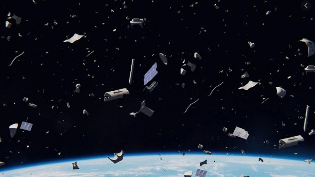 Uzayı da çöplüğe çevirdik! İki eski uydu az daha çarpışıyordu