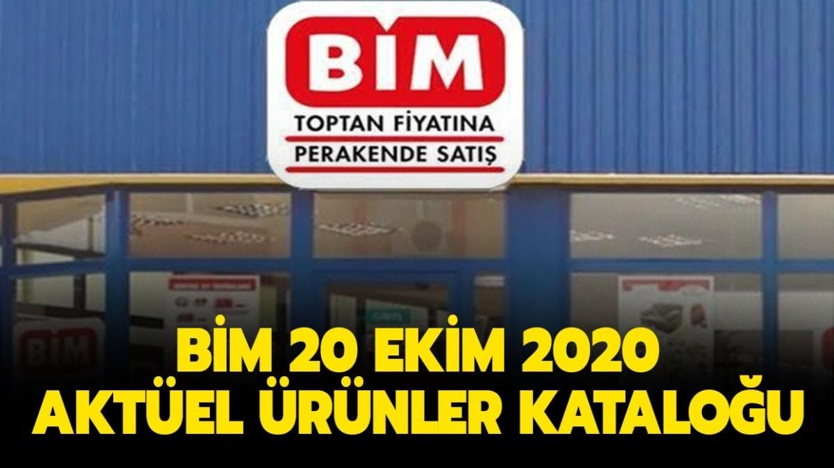 """BİM 20 Ekim 2020 aktüel ürünler kataloğu burada: BİM'e bugün neler geliyor"""""""