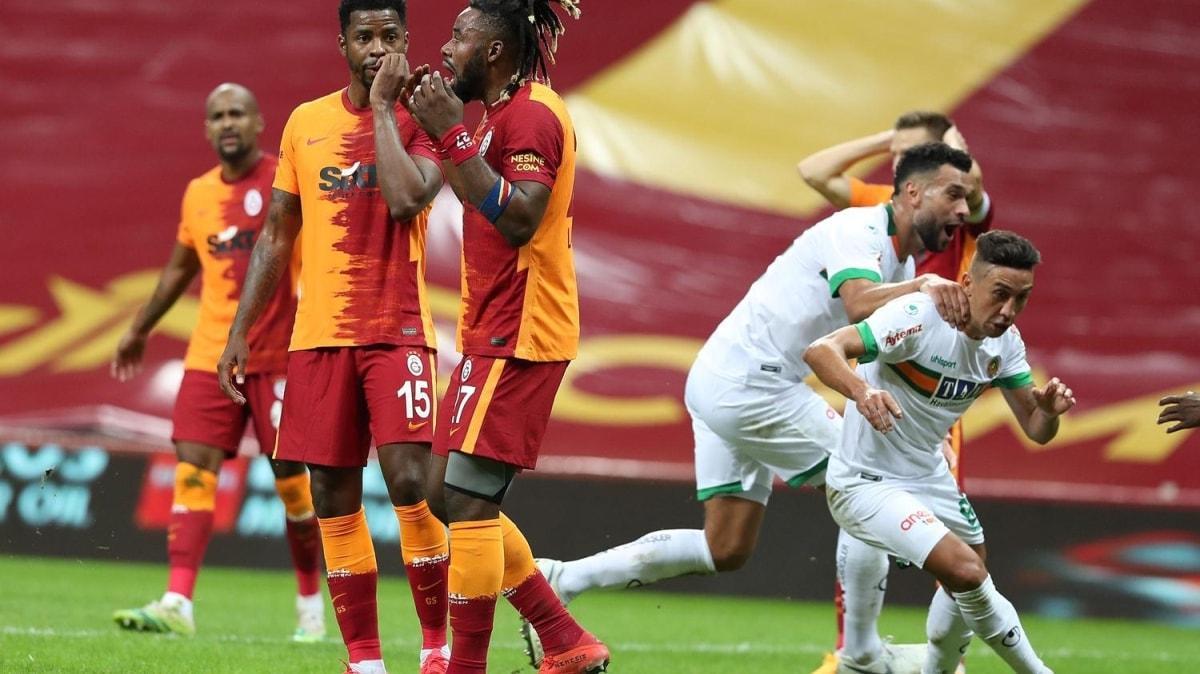Kabus sürüyor! Galatasaray, evinde Alanyaspor'a mağlup