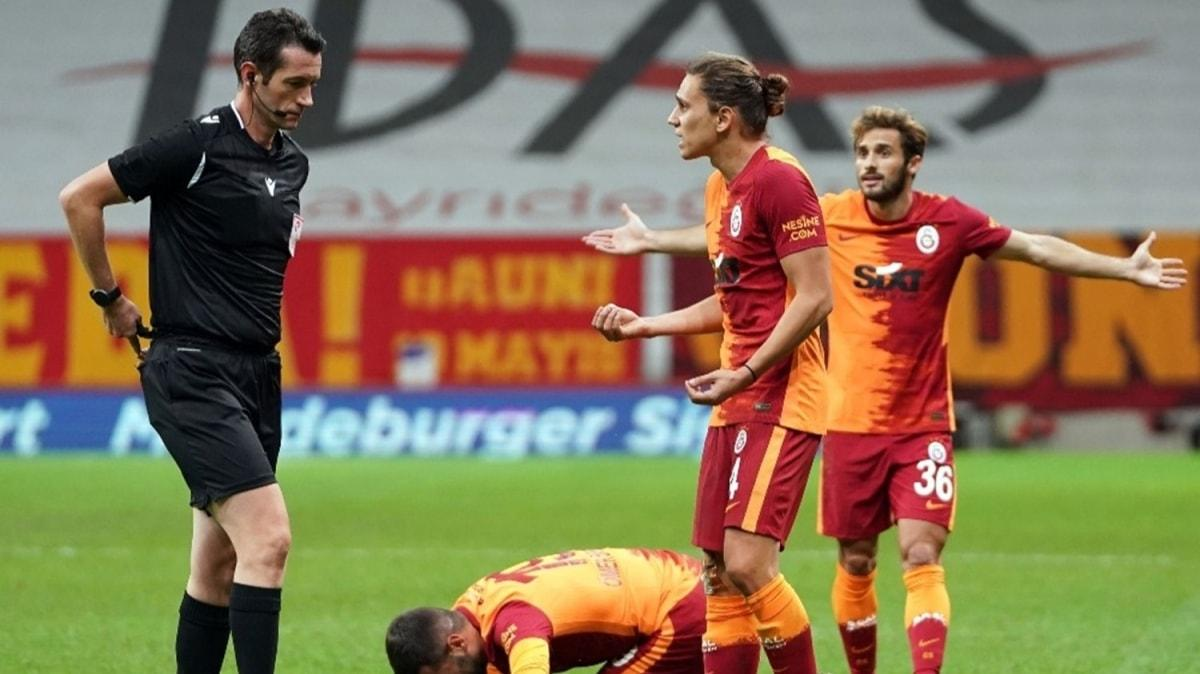 Galatasaray Alanyaspor karşısında bir ilki yaşadı