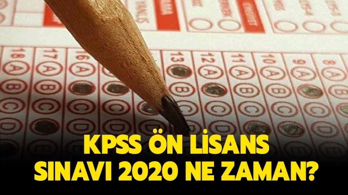 2020 KPSS ön lisans sınav yeri sorgulama ekranı!