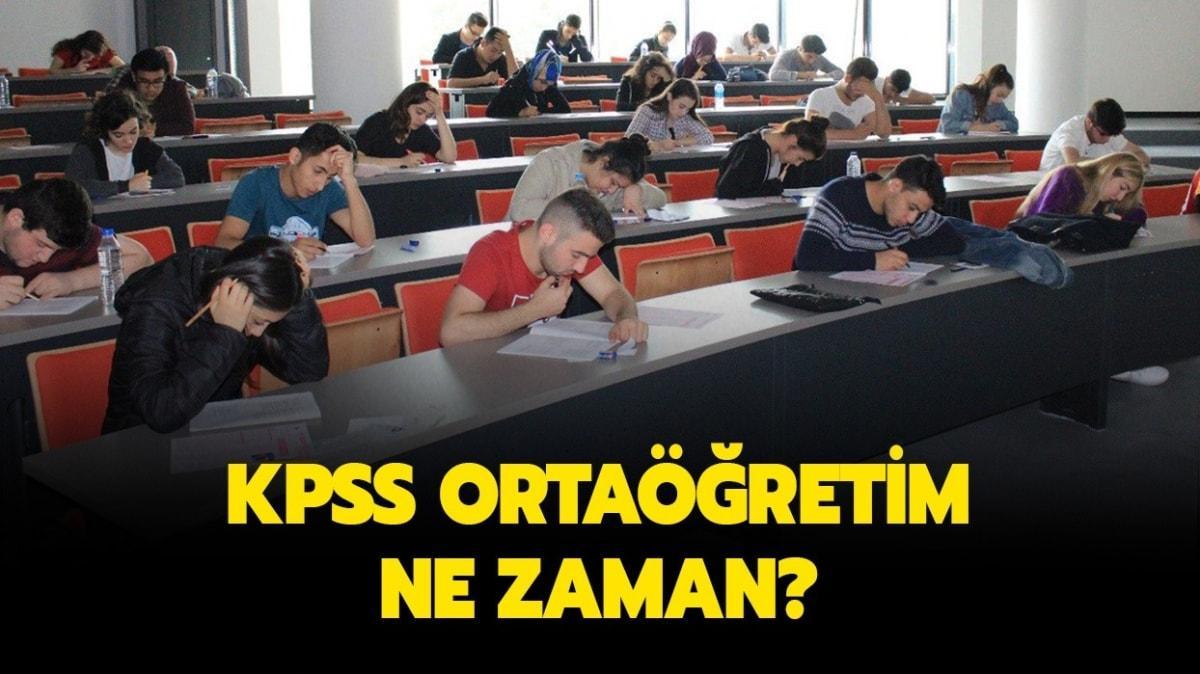 """KPSS ortaöğretim sınavı ne zaman"""" Ortaöğretim lise KPSS ile ne olunur"""""""