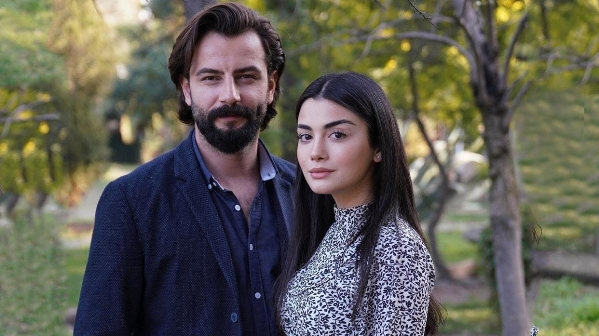Yemin'in aşıkları Özge Yağız'dan Gökberk Demirci'ye romantik kutlama