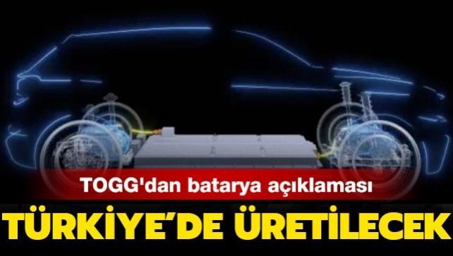 Türkiye'nin Otomobili'nin batarya modülü ve paketi Türkiye'de üretilecek