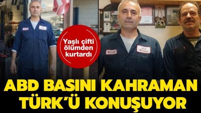 ABD kahraman Türk Mustafa Tosun'u konuşuyor! Canını tehlikeye atarak yaşlı çifti kurtardı