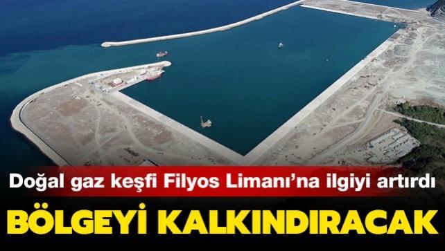 Doğal gaz keşfi Filyos Limanı'na ilgiyi artırdı: Bölgeyi kalkındırmada başrol oynayacak