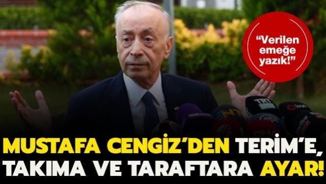Mustafa Cengiz yenilgi sonrası isyan etti