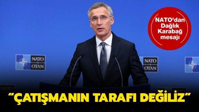 NATO'dan Dağlık Karabağ mesajı: Çatışmanın tarafı değiliz