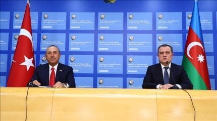 Bakan Çavuşoğlu, Bayramov ile görüştü