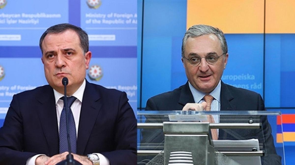 Lavrov, Azerbaycan Dışişleri Bakanı Bayramov ve işgalci Ermenistan'ın Dışişleri Bakanı Mnatsakanyan ile görüştü