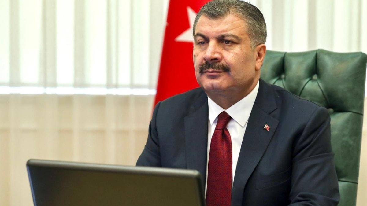 Sağlık Bakanı Koca, 7 ildeki sağlık müdürleriyle video konferans yöntemiyle görüştü