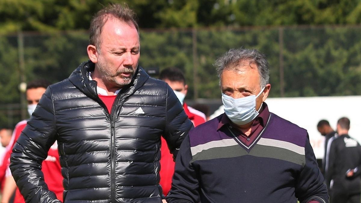 Sergen Yalçın, Oğuzhan Özyakup ve Adem Ljajic'i Beşiktaş yönetimine şikayet etti