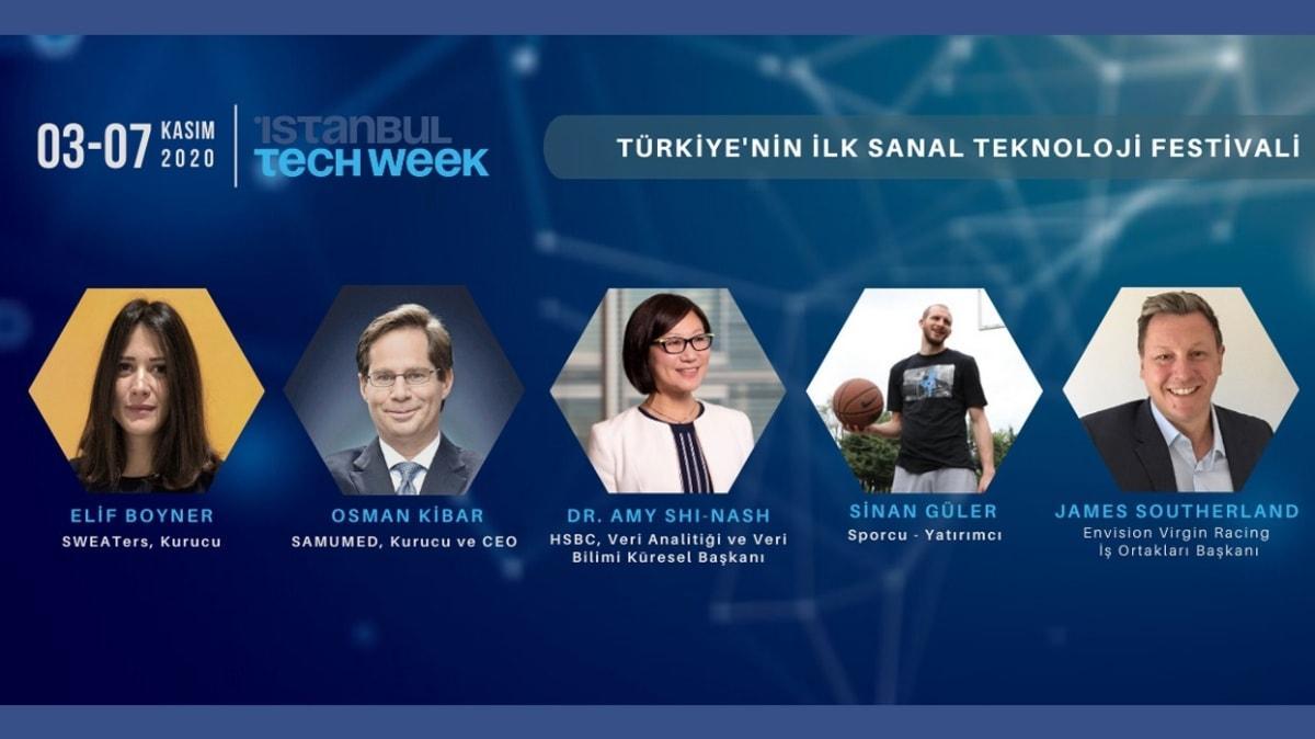 Teknoloji dünyasının liderlerini bir araya getiren İstanbul Tech Week'e sayılı günler kaldı