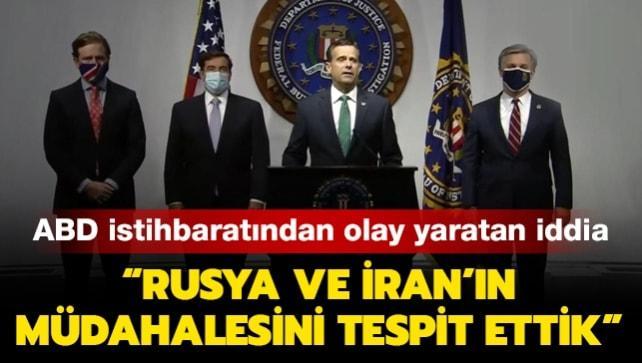 ABD istihbaratından seçim açıklaması: Rusya ve İran müdahale etmeye çalışıyor