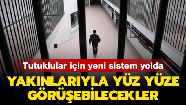 Bakan Karaismailoğlu: Tutukluların yakınlarıyla yüz yüze görüşebileceği bir sistem kuruyoruz