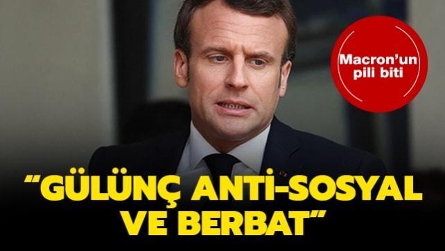 Macron'un pili bitti: Gülünç, anti-sosyal ve berbat