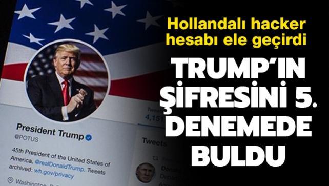 Hollandalı hacker ABD Başkanı Trump'ın Twitter şifresini 5'inci denemede buldu