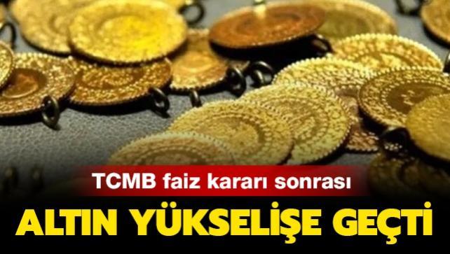 Merkez Bankası faiz kararı sonrası altın fiyatları yükselişe geçti! Uzmanlar uyardı!