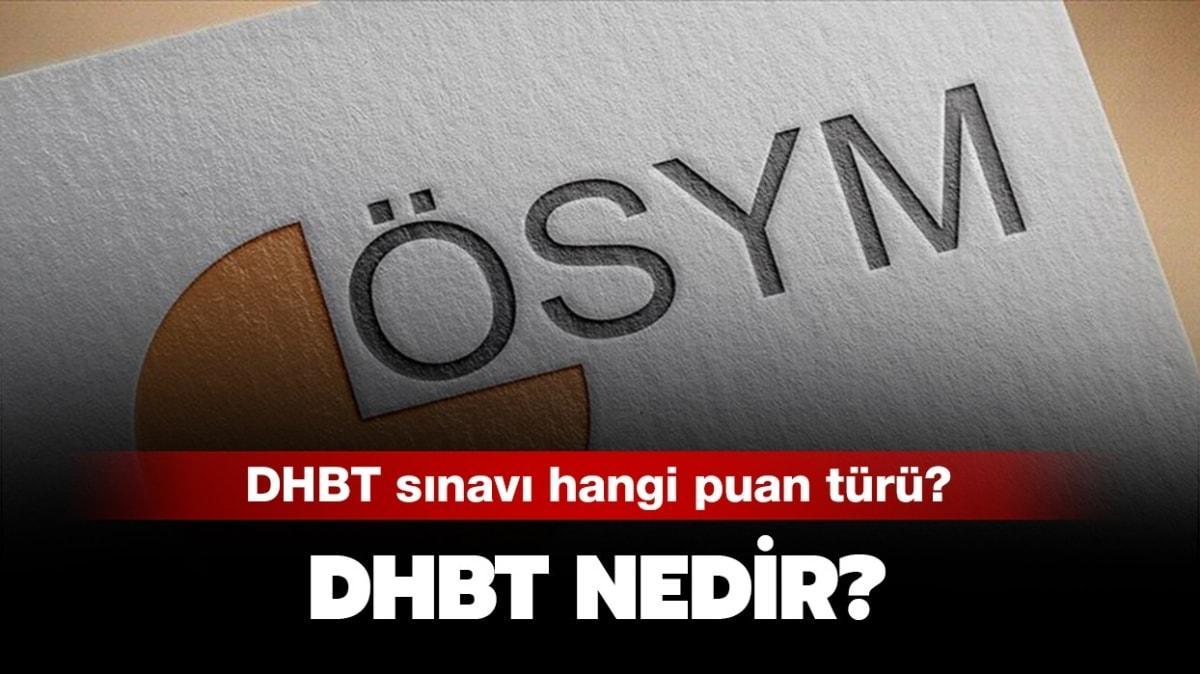 """KPSS DHBT hangi puan türünde"""" DHBT nedir, ne demek"""""""
